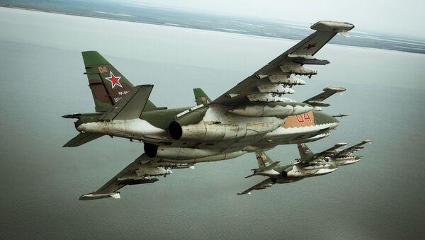 Stíhačka Su-25SM3 - Sputnik Česká republika
