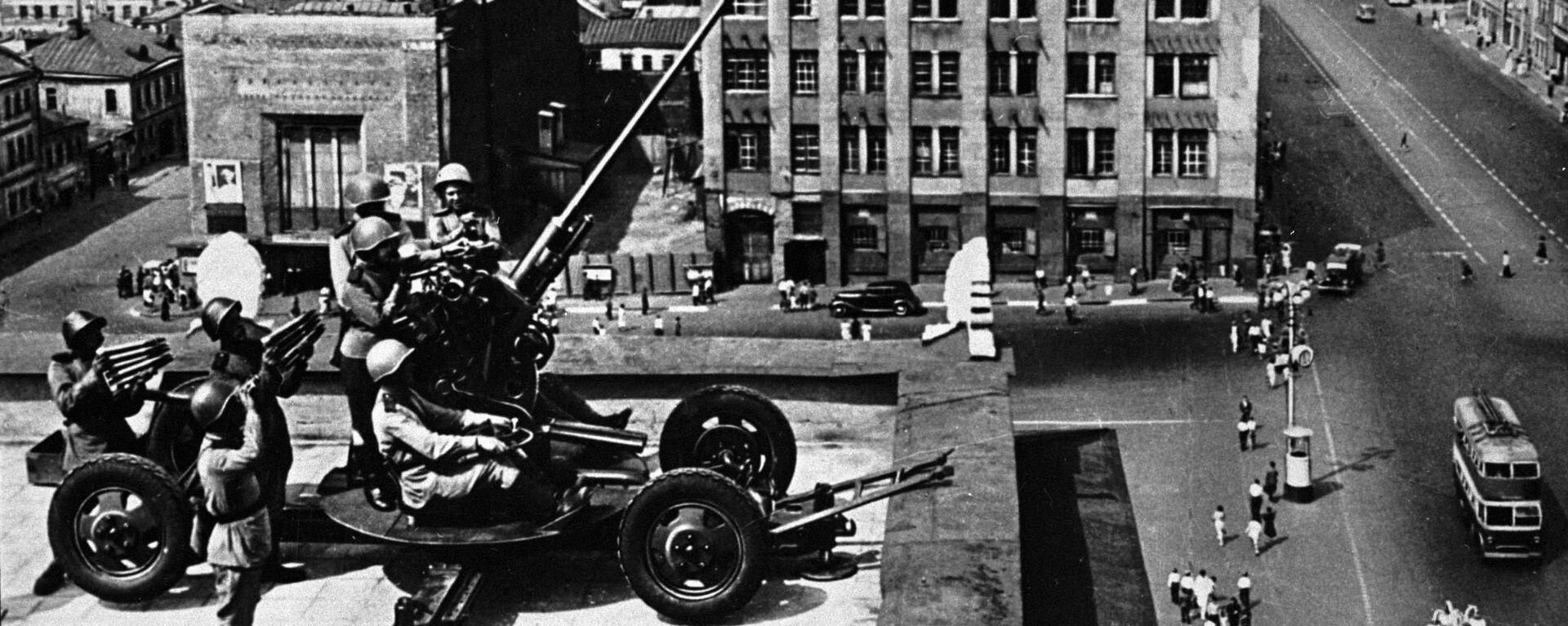 Obrana Moskvy během 2. světové války - Sputnik Česká republika, 1920, 22.07.2021