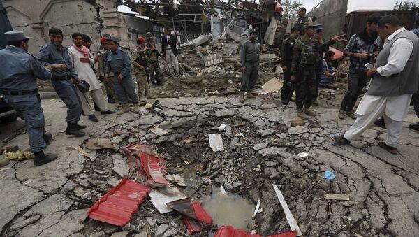 Útok na parlament v Kábulu - Sputnik Česká republika