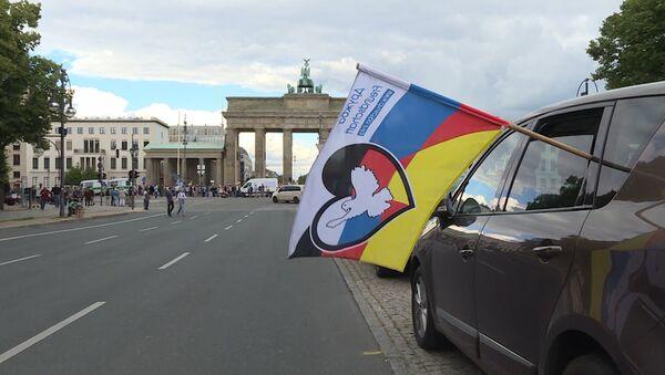 45 měst a 40 000 kilometrů. Automobilová cesta přátelství Berlín-Moskva - Sputnik Česká republika