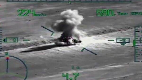 Objevilo se video operace dobytí El-Kder Syrskými ozbrojenými silami za podpory VKS RF - Sputnik Česká republika