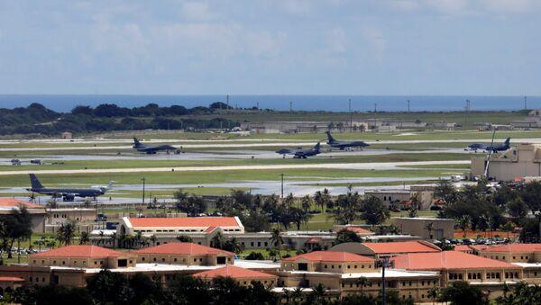 Americká základna Andersen na Guamu - Sputnik Česká republika