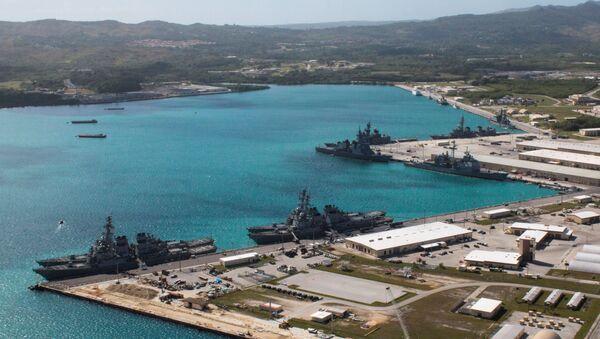 Ostrov Guam - Sputnik Česká republika
