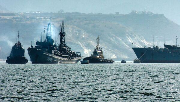 Lodě černomořské flotily - Sputnik Česká republika