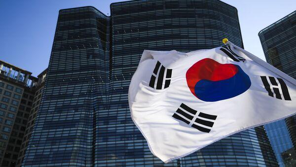 Vlajka Jižní Korei - Sputnik Česká republika