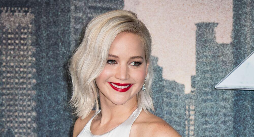 Hollywoodská herečka Jennifer Lawrence