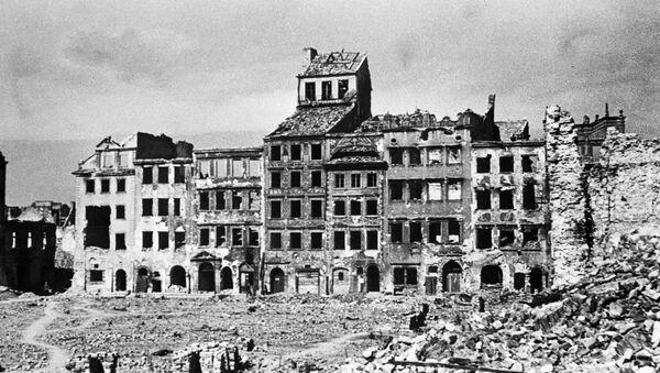 Pohled na Varšavu během 2. světové války - Sputnik Česká republika