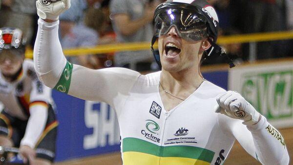 Mistr světa v dráhové cyklistice Shane Perkins - Sputnik Česká republika
