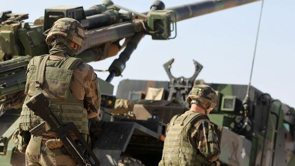 Vojáci mezinárodní koalice v Mosulu - Sputnik Česká republika