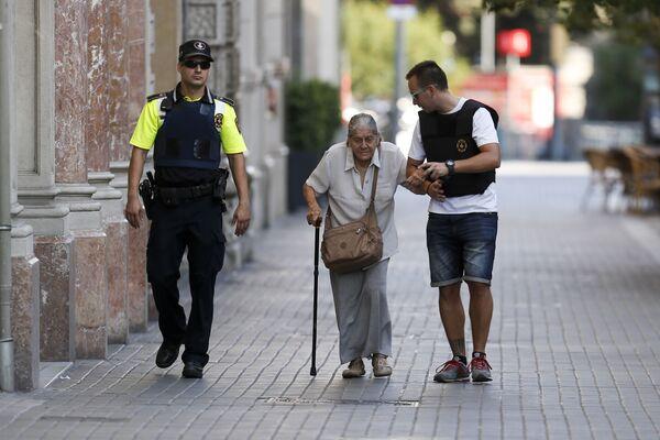 Teroristický útok v Barceloně - Sputnik Česká republika