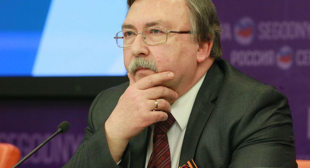 Zástupce Ruska při mezinárodních orgánech ve Vídni Michail Uljanov