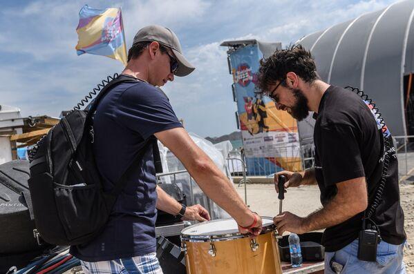 Příprava k festivalu Koktebel Jazz Party - Sputnik Česká republika