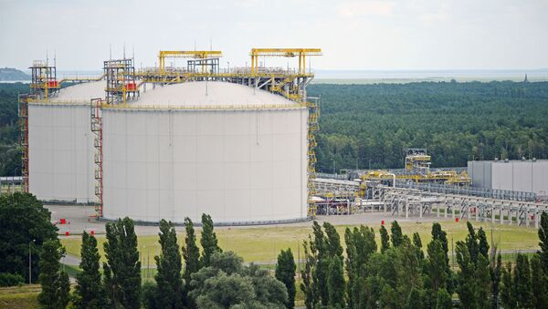 Terminál LNG, Svinoústí, Polsko - Sputnik Česká republika
