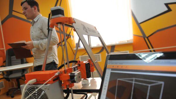 3D-tiskárna - Sputnik Česká republika