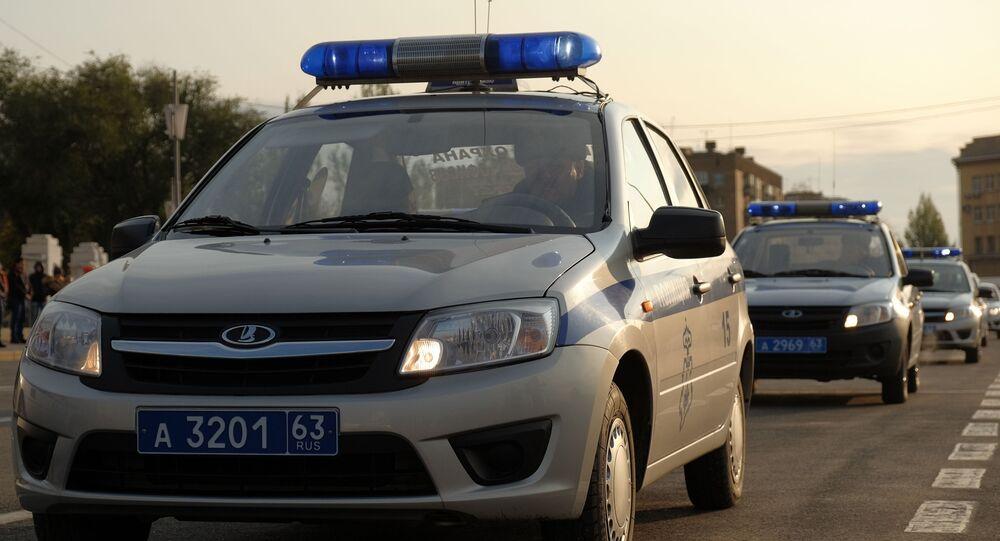 Vozy ruské policie