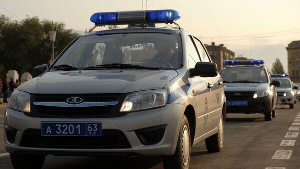 Vozy ruské policie - Sputnik Česká republika