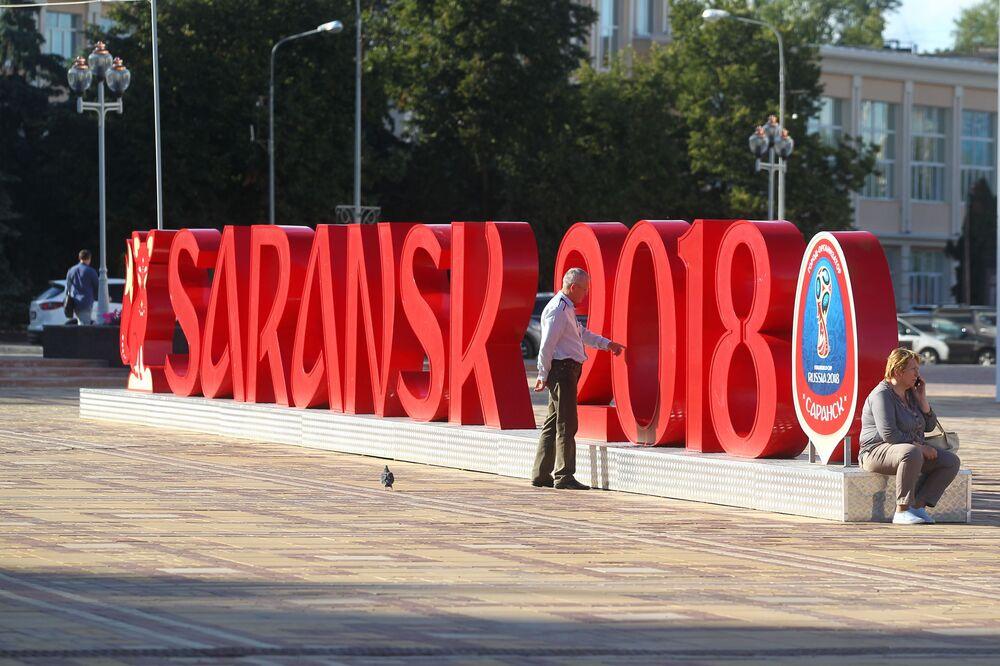 Perly Ruska: město Saransk