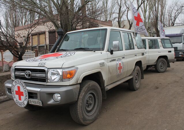 Červený kříž na Donbasu