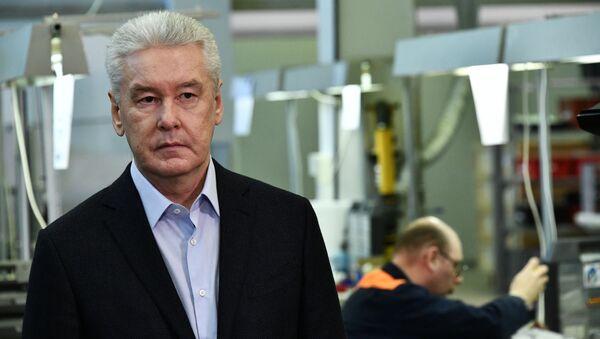 Starosta Moskvy Sergej Sobjanin - Sputnik Česká republika