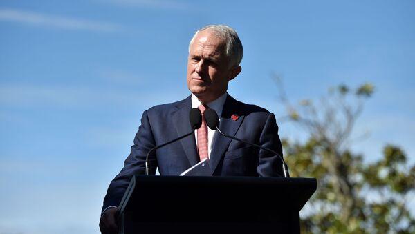 Australský premiér Malcolm Turnbull - Sputnik Česká republika