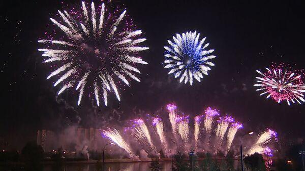 Mezinárodní festival ohňostrojů v Moskvě - Sputnik Česká republika
