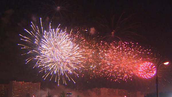 Ruský tým zvítězil na Mezinárodním festivalu ohňostrojů - Sputnik Česká republika