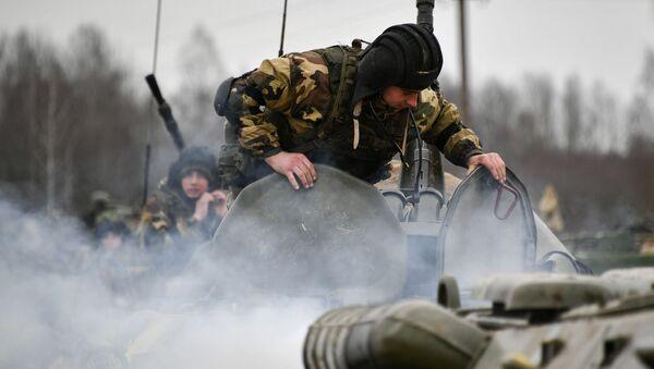 Rusko-běloruská cvičení - Sputnik Česká republika