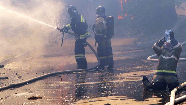 Požár a hasiči - Sputnik Česká republika