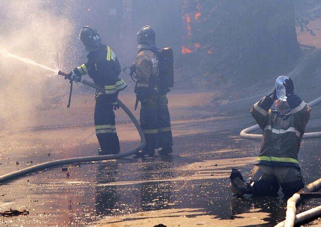 Požár a hasiči