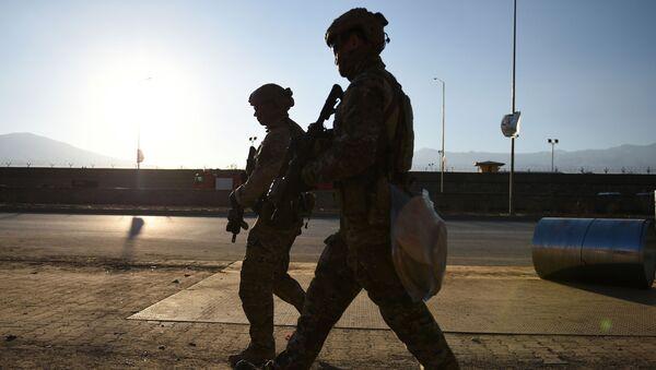 Američtí vojáci v Kábulu - Sputnik Česká republika