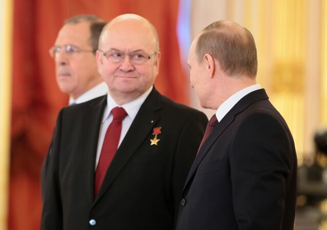 Vladimír Remek a Vladimir Putin