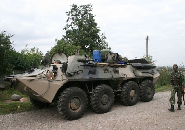 Antiteroristická operace v Ingušsku (archívní foto)
