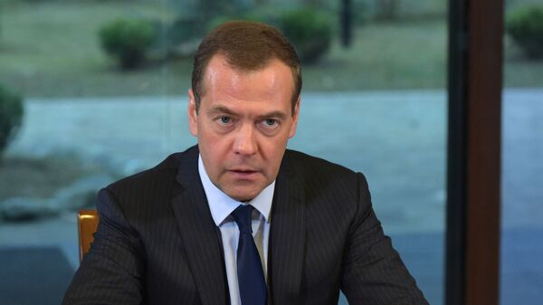 Ruský předseda vlády Dmitrij Medveděv - Sputnik Česká republika
