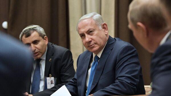 Schůzka Netanjahua a Putina - Sputnik Česká republika