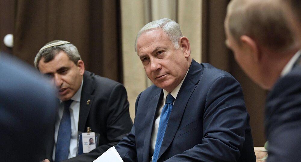 Schůzka Netanjahua a Putina