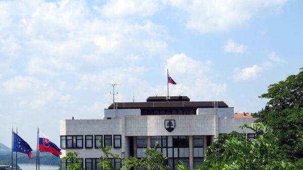 Budova slovenského parlamentu v Bratislavě - Sputnik Česká republika