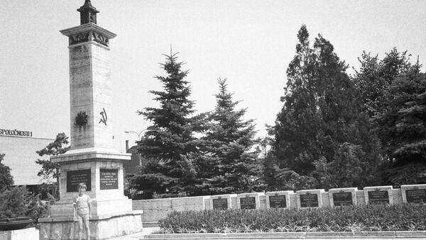 Memoriál sovětským vojákům v Košicích - Sputnik Česká republika