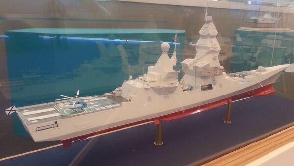 Návrh torpédoborce Líder - Sputnik Česká republika