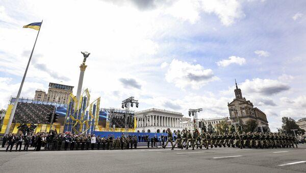 Slavnostní přehlídka u příležitosti Dne nezávislosti Ukrajiny - Sputnik Česká republika
