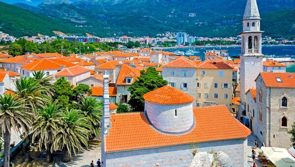 Pohled na Budvu v Černé Hoře - Sputnik Česká republika