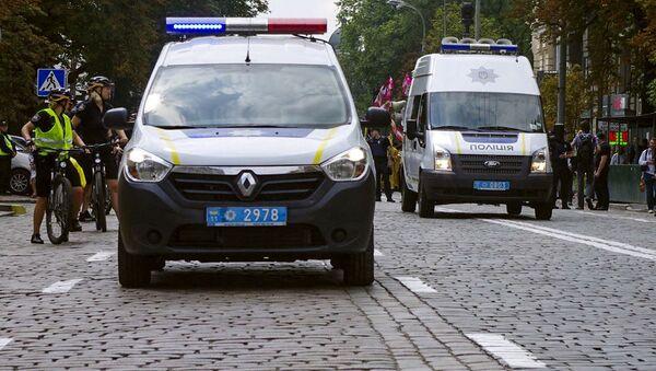 Ukrajinská policie - Sputnik Česká republika