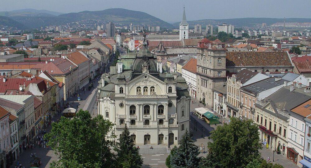 Státní divadlo v Košicích