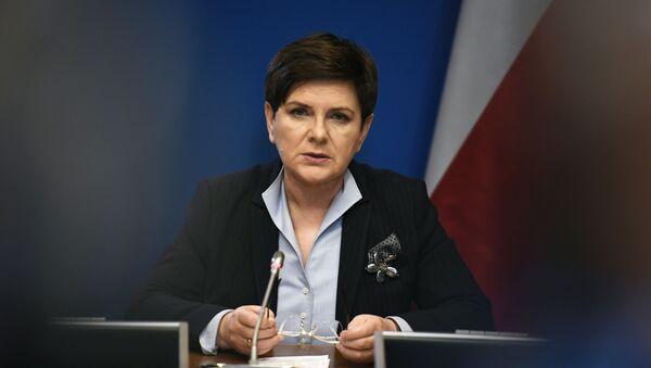 Polská premiérka Beata Szydłová - Sputnik Česká republika