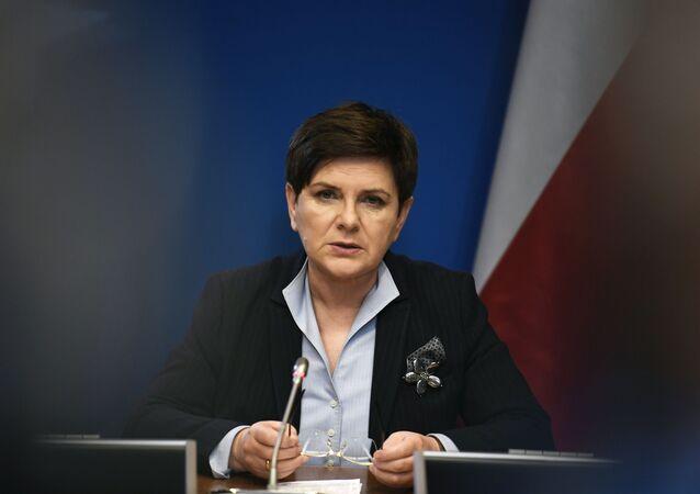 Polská premiérka Beata Szydłová