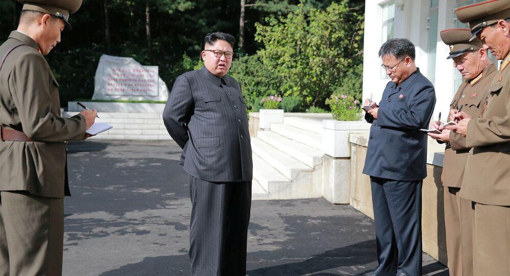 Vůdce KLDR Kim Čong-un