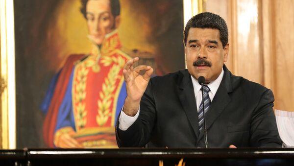 Venezuelský prezident Nicolás Maduro - Sputnik Česká republika