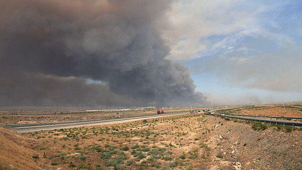 Požár na muničním skladu. Ilustrační foto - Sputnik Česká republika