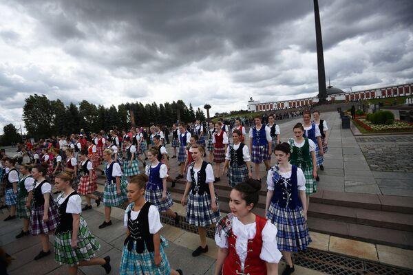 Účastníci festivalu Spasskaja bašnja - Sputnik Česká republika
