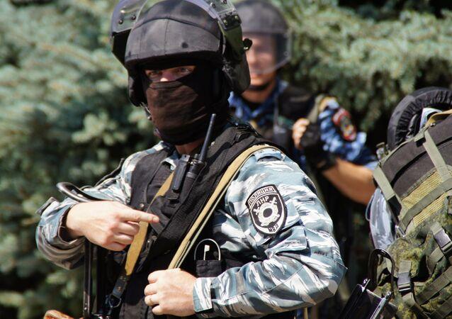 Policie v Luhansku
