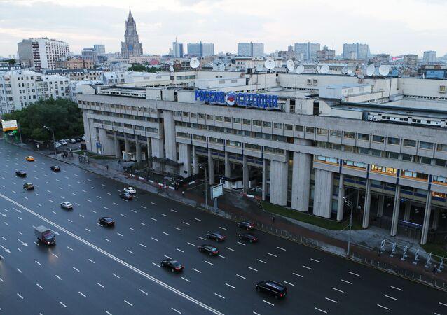 Budova agentury Rossija Segodnia